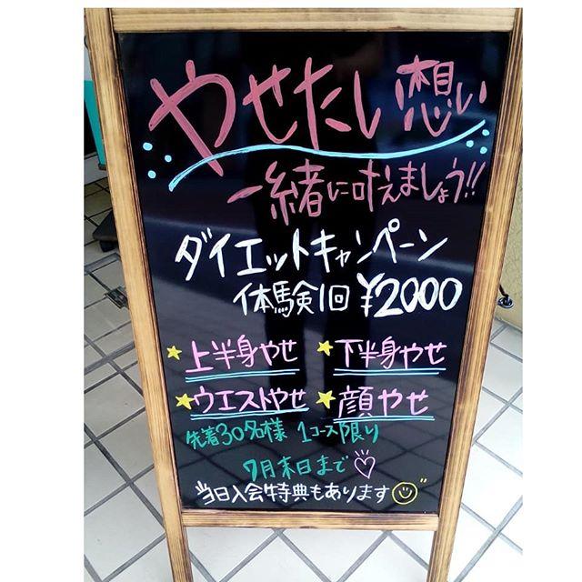 ダイエットキャンペーン¥2000
